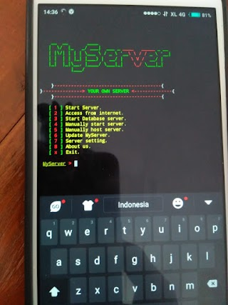 Install Web Server Di Android  With Termux