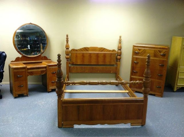 vintage art deco bedroom furniture