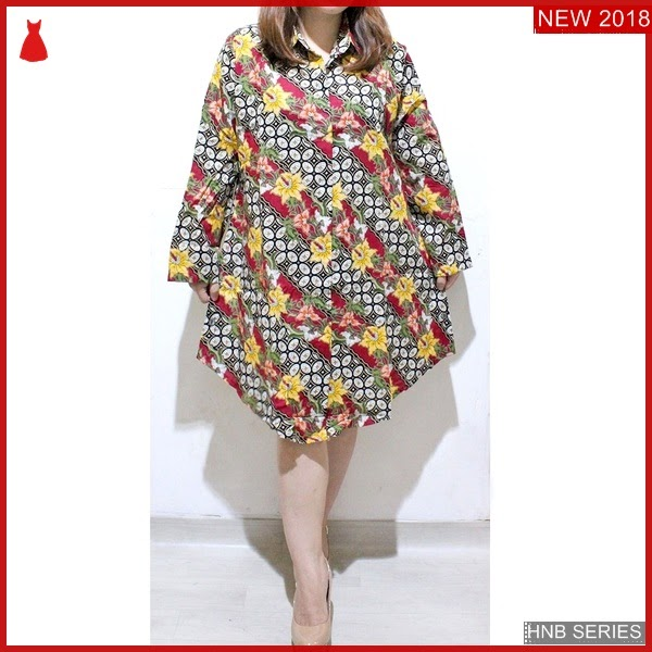 HNB058 Model Blouse Tali Ukuran Besar Jumbo Modis BMG Shop