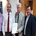 Alcalde Schifferli se reune con cuatro Ministros en visita a la capital