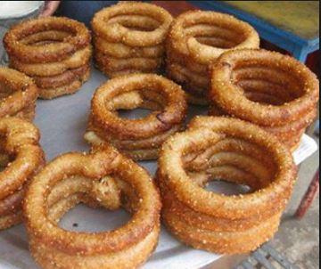 Himalayan cuisine: Selroti Popular Nepalese deep oil fried bread