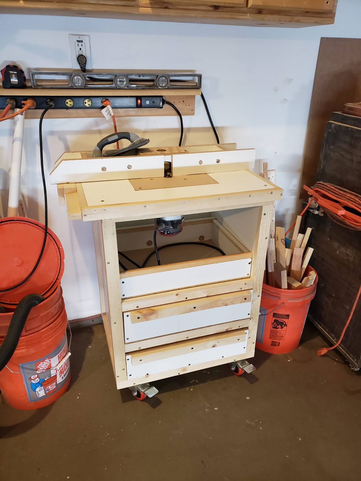 Timbos Creations Drill Press And Sanding Carts Is Preferable To A Hand When Which Eventually Was Reworked Into 2 New Router Table