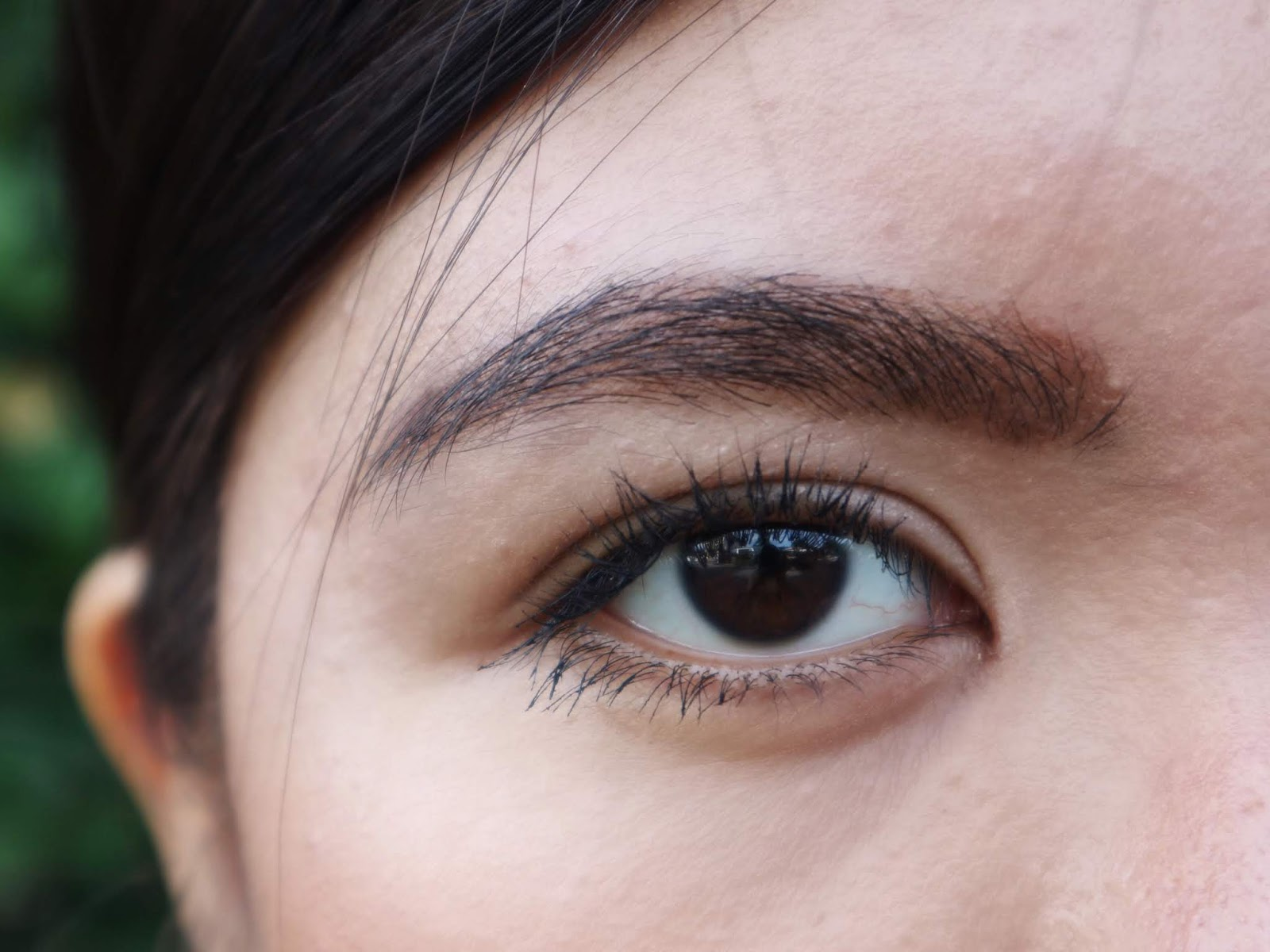 Kris Matte Brow Liner and Brow Mascara in Beyond Brown Swatch