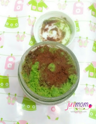 Cake in Jar Rasa Green Tea