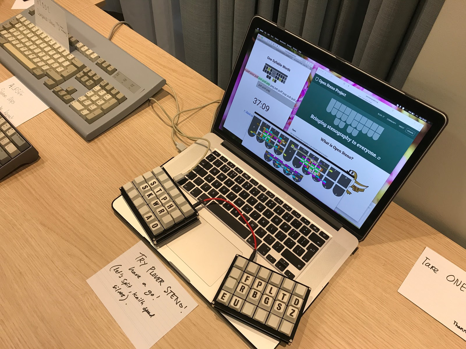 Guest Post: Mechanical Keyboards UK Meetup! | The Plover Blog