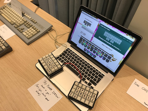 Steno Keyboard - Year of Clean Water