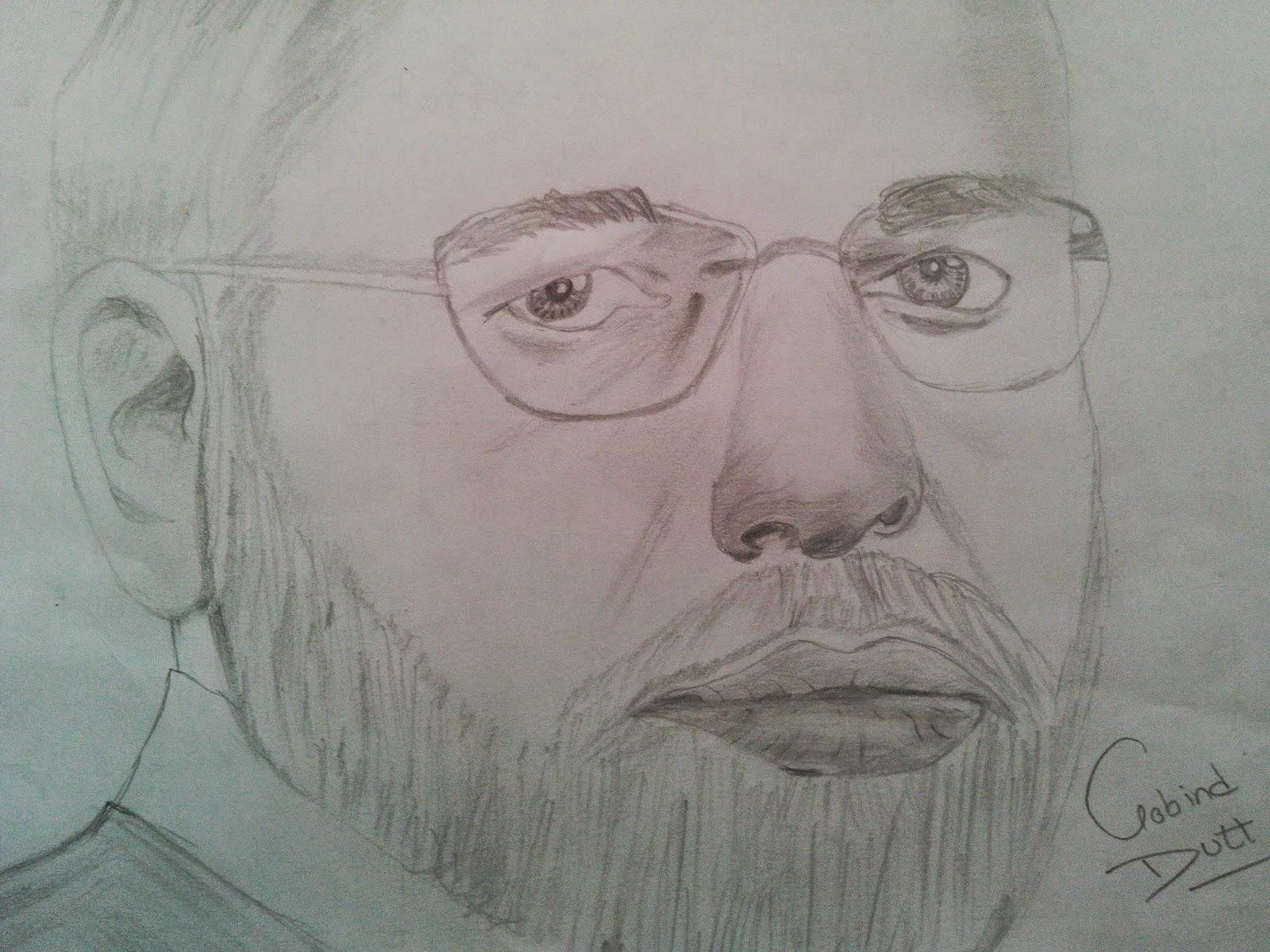 Pencil Sketches: Pencil Sketch Lover: Narendra Modi