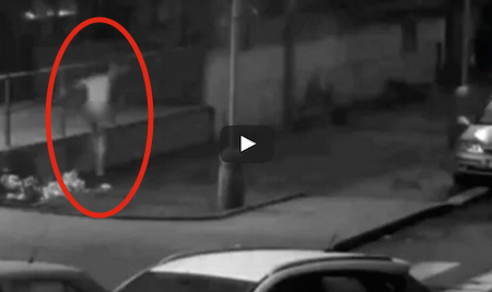 "Naked ""Werewolf"" Man Attacks People And Cars In Drug Induced Rampage"