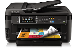 Epson WF 7610 Printer Driver Free Download