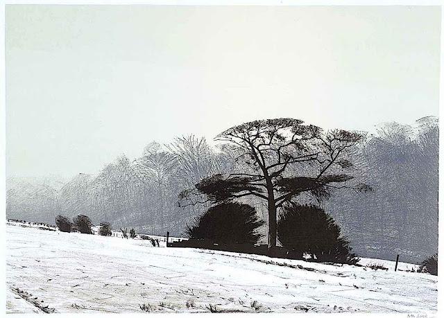 Peter Brook 1975 winter landscape
