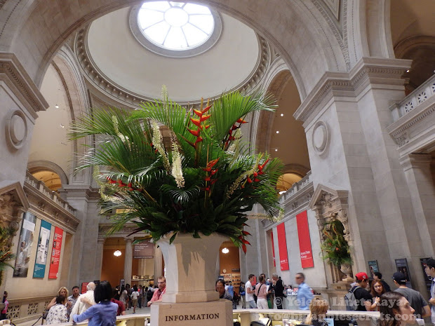 Big Apple Secrets Fresh Flowers In Great Hall