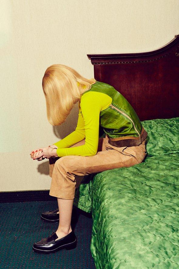 © Leta Sobierajski | 'Never Alone' | Photo: Meredith Jenks - Stylism: Courtney Cho