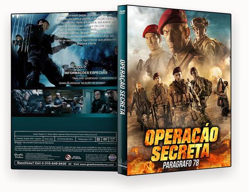 CAPA DVD – Operacao Secreta Paragrafo 78 Dublado – ISO