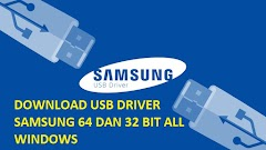 Download USB Driver SAMSUNG 32 bit dan 64 bit Terbaru
