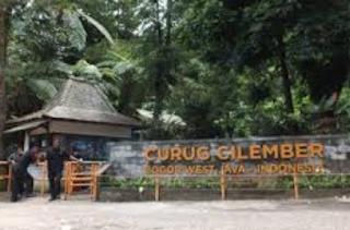 Curug Cilember di Bogor