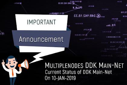 Informasi Paling Baru Multiplenodes DDK 10 Januari 2019