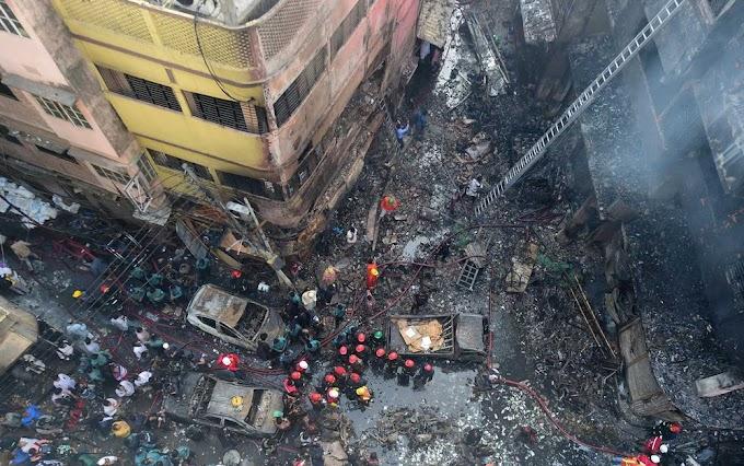Incêndio em prédios mata 70 pessoas em Bangladesh