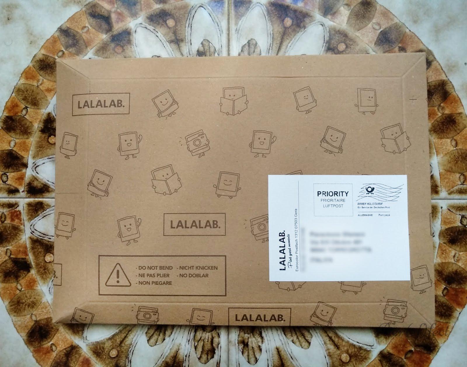 stampare foto con lalalab