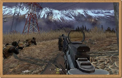 Call of Duty 4 Modern Warfare PC Games Gameplay