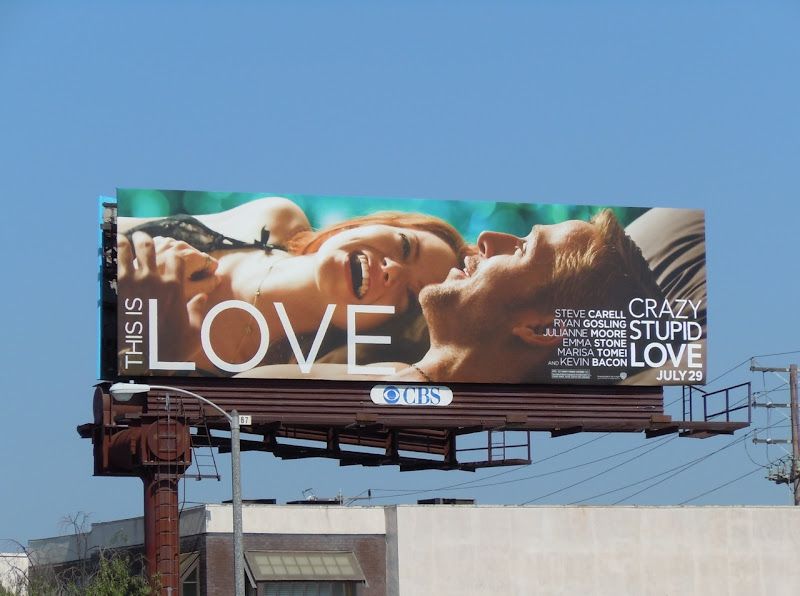 Crazy Stupid Love film billboard