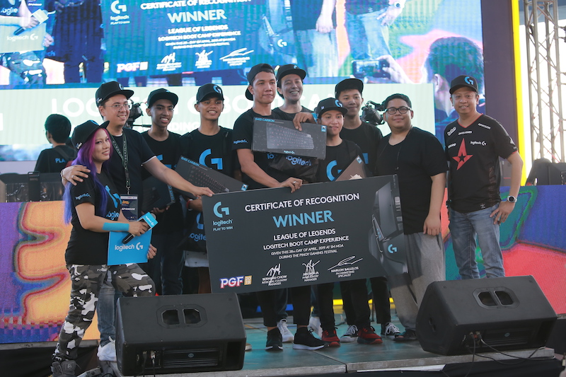 Logitech held its first-ever gaming bootcamp for League of Legends in PGF 2019