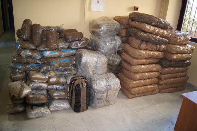 Τρεις οι συλλήψεις για τα 392 κιλά κάνναβης