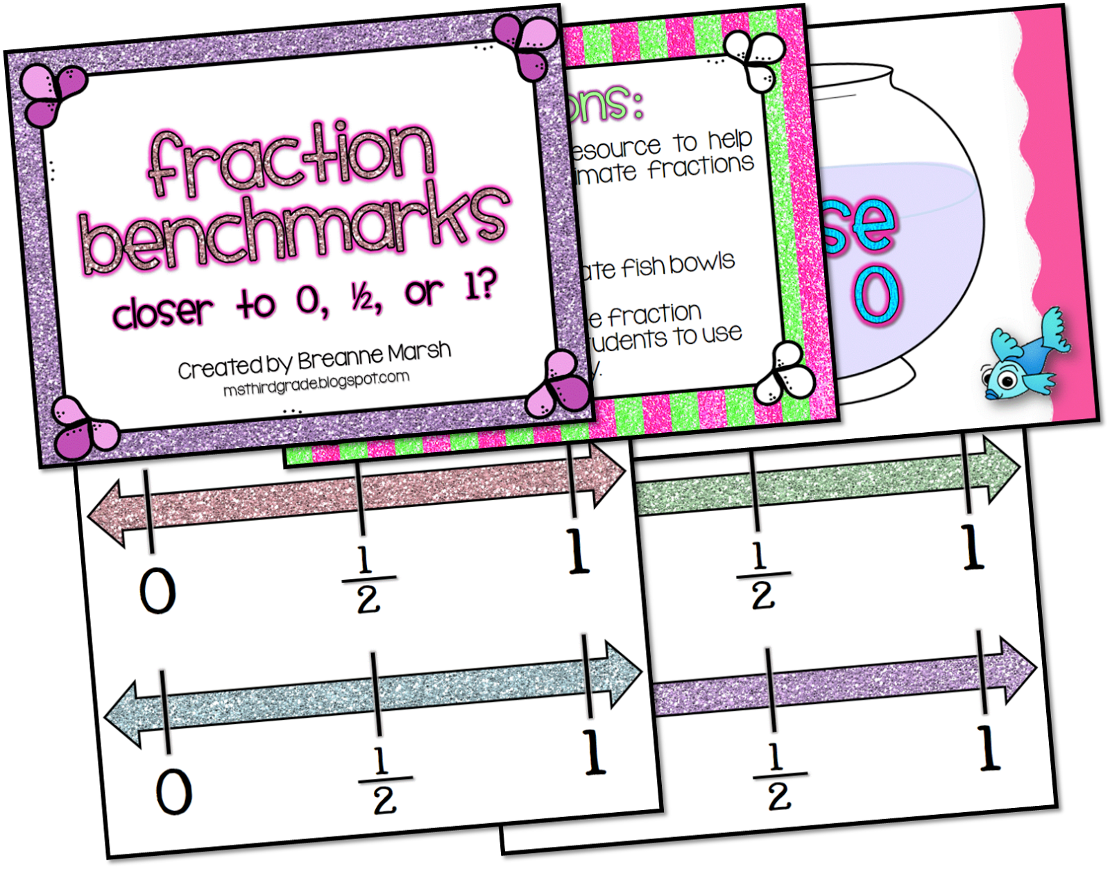 Ms Third Grade Back To School Postcards And Fraction