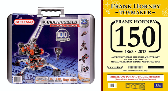 Meccano 100th Anniversary and Frank Hornby 150th Anniversary