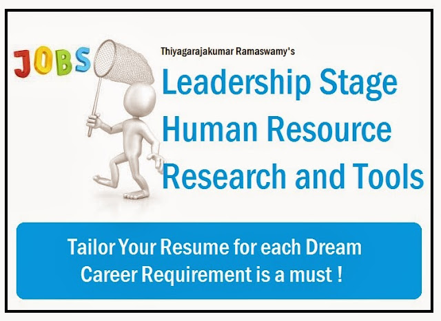 tailor your for each dream career requirement is a must