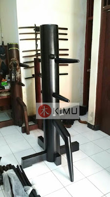 KIMU Black Dragon Wooden Dummy / Mok Yan Jong (Single)