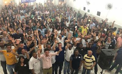 Pablo Barrozo inicia campanha em Santo Amaro e é aclamado por santoamarenses