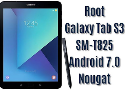 Root Galaxy Tab S3 SM-T825