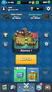 Download Clash Royale v1.1.1 Apk Android