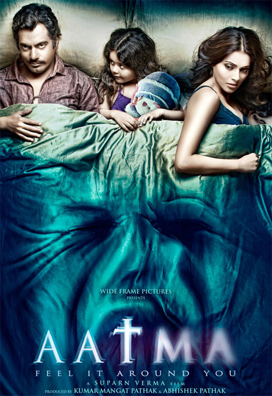 First Look Poster: Aatma Featuring Bipasha Basu and Nawazuddin Siddiqui.