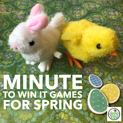 Minute to Win It Games for Spring Spanish French Classes