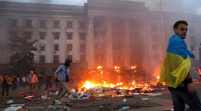 Washington y Londres se oponen en la ONU a investigar la matanza de Odesa