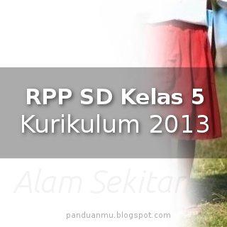 RPP SD Kelas 5 Kurikulum 2013  Panduanmu