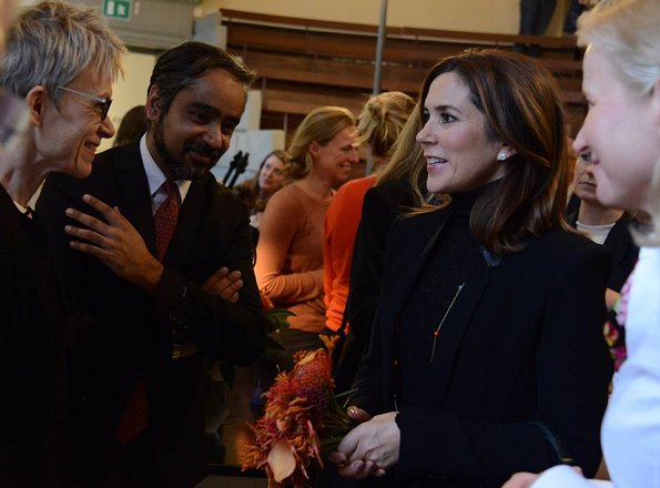Crown Princess Mary of Denmark attended the launch of UNFPA's State of World Population Report 2017