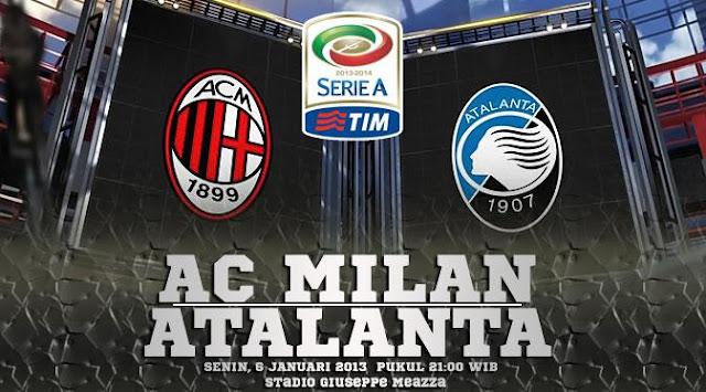 Prediksi Pertandingan Liga Italia AC Milan vs Atalanta