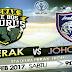 Siaran Langsung Keputusan Perak Vs JDT Liga Super 18-2-2017