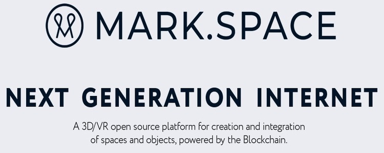 MARK.SPACE - Open Source Platform For Creation of 3D and VR Powered by Blockchain