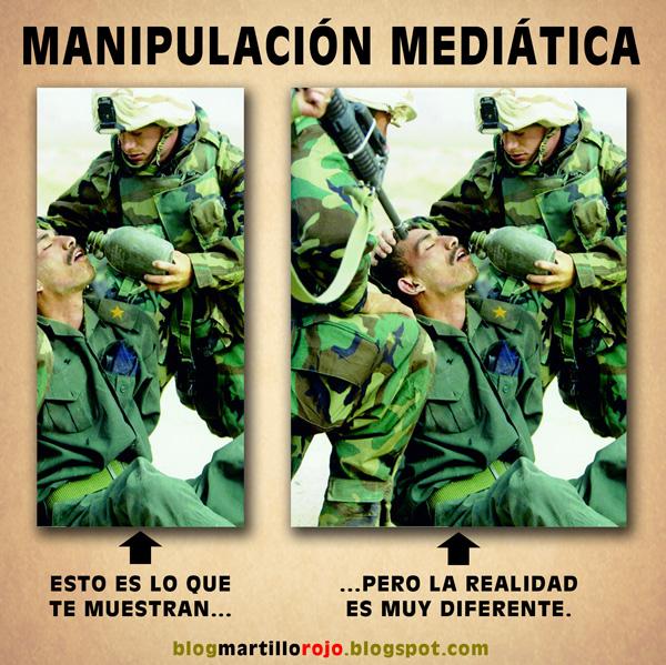 Resultado de imagen de MANIPULACION MEDIATICA