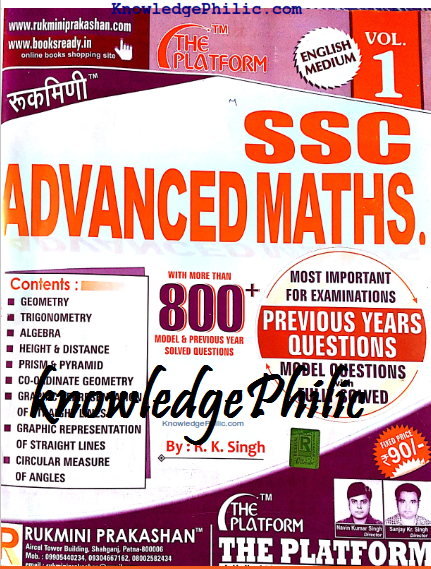 Download Platform's Advanced Maths (ssc) in English Free