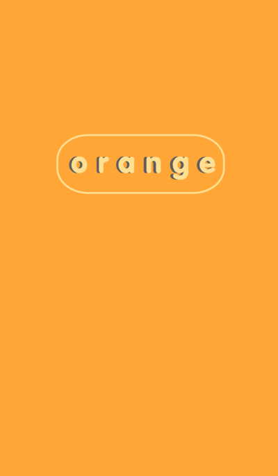 Simple Orange Button theme