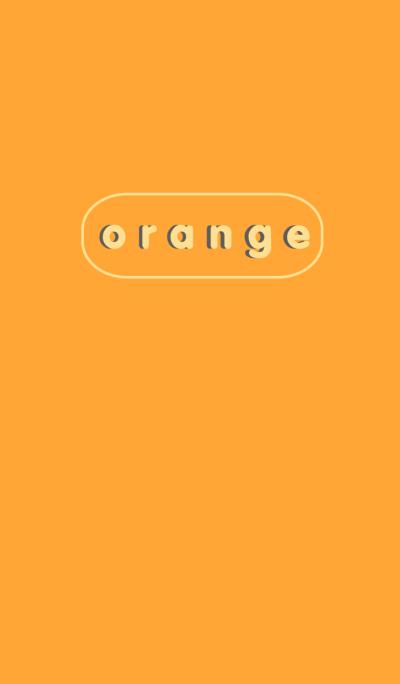 Simple Orange Button theme