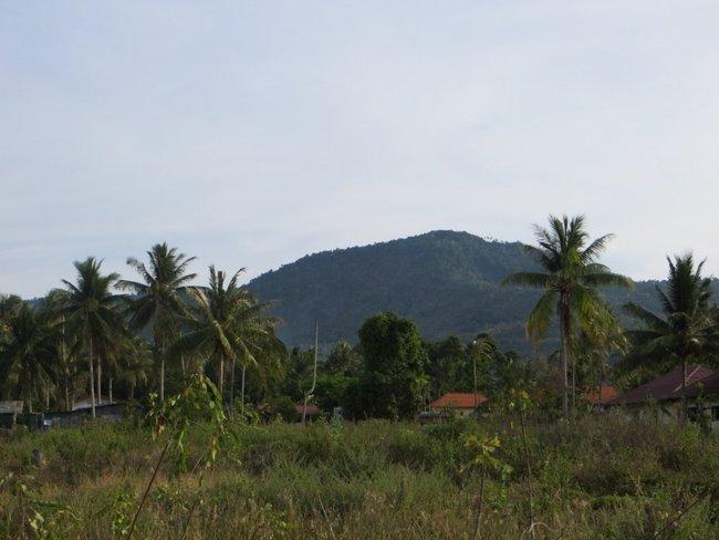 Гора на Маенаме, Самуи