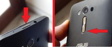 Cara Mudah Screenshot Asus Zenfone 2 Laser