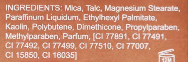 Makeup Revolution Chocolate Elixir skład INCI