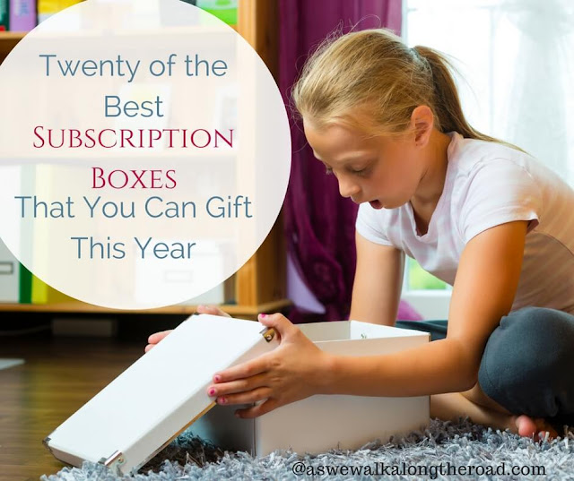 Subscription boxes for gifts