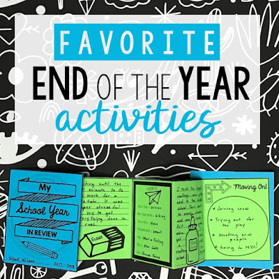 Check out this collection of activities for the end of the school year. You'll find free lessons for the end of the year and tons of ideas for ending the school year with a bang!